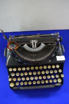 """Imperial Typewriter """"The Good Companion"""" - Leicester, England"""