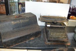 Smiths Premier No.10 Typewriter - Syracuse, New York, USA