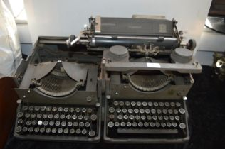 Imperial Double Typewriter