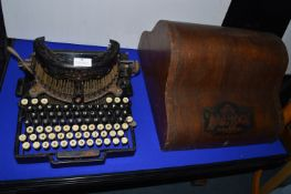 Royal Bar.Lock Typewriter by The Typewriter Co Ltd, London