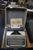 *Olympia No.09 Manual Typewriter with Original Carry Case