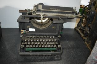 Remington No.30 Typewriter