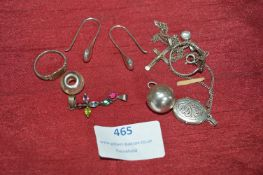 Sterling Silver Jewellery Including Locket & Chain