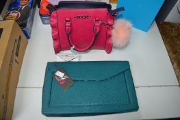 Two Handbags by Jane Shelton and Floozie
