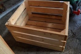 Robust Pine Storage Crate/Planter
