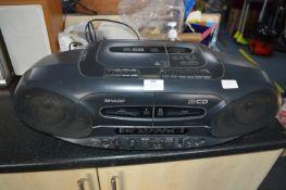Sharp Portable CD Radio
