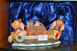 Pendelfin Figure - The Barge (in box)