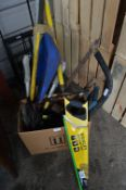 Assorted Tools Including Stanley Shark Cut Saw etc