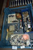 Collectible Items; Plated Ware, Coins, etc.