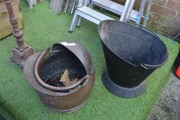 Two Coal Buckets