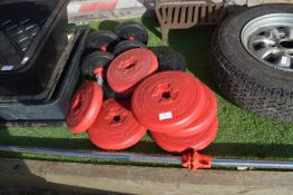 Weightlifting Bars, Weights, and Dumbbells