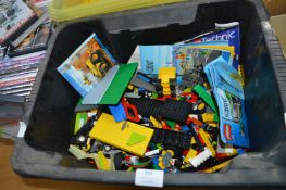 Small Tub of Assorted Lego