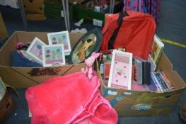 Children's DVDs, Pink Throw, Framed Pictures, Game