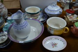 Vintage Serving Dishes, Bowls, Potties, etc.