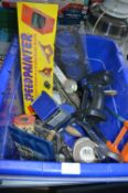 Assorted Tools, Car Jack, Speed Painter, Electric