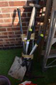 Garden Tools, Spade, Shovel, etc.
