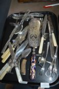 Plated Cutlery and Serving Utensils