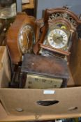 Vintage Clocks and Parts for Spares and Repairs