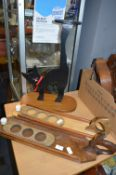 Wooden Serving Boards and a Cat Stand etc.