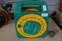 25m Twin Socket Cable Reel