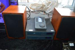 Quad77 Music System Comprising Amp, CD Player, Spe