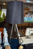Metal Tripod Base Table Lamp