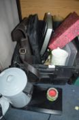 Assorted Household Goods, Bathroom Scales, Laptop