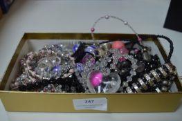 Costume Jewellery, Necklaces, Bracelets, etc.