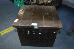 Arts & Crafts Style Coal Box