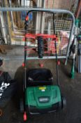 Qualcast Electric Lawnmower and a Lawn Spike