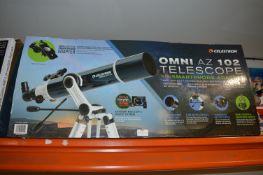*Celestron Omni AZ102 Telescope