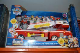 *Paw Patrol Ultimate Fire Truck
