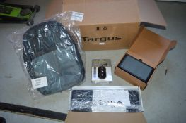 *Targus Mouse, Keyboard, and Display Link Set