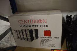 *Centurion Lever Arch Files 10pk