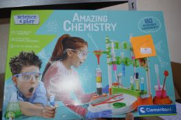 *Science & Play Amazing Chemistry Set