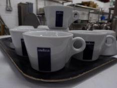 *10 x Lavazza coffee cups