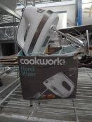 *Cookworks hand mixer