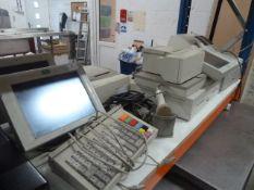 *assorted retro tills - including Samsung ER-5115 cash register with drawer, 3 x screens, keyboard,