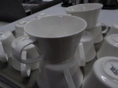 *14 x white coffee cups