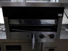 *Electric salamander grill - 550w x 280d x 320h