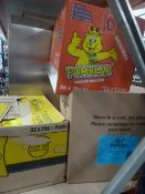 *3 x boxes crisps - pipers/pom bears/quavers