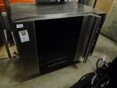 *Blueseal Turbofan oven E31D4 - from a national chain, on castors. 810w x 660d x 680h