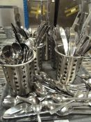 *cutlery in S/S holders