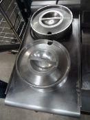 *Lincat 2 pot Bain Marie - with pots