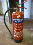 *6kg ABC Powder 27A Fire Extinguisher. Located at 389-395 Anlaby Road, Hull, HU3 6AB