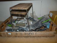 *Wooden Tray Stands and Cable Ties, etc.