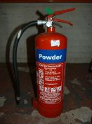 *6kg ABC Powder 34A Fire Extinguisher. Located at 389-395 Anlaby Road, Hull, HU3 6AB
