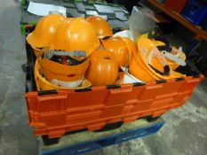 *Large Box of Safety Helmets