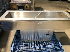 * dropwell refridgerated in counter size 1.4m x 0.450 x height 0.6 240v Located at Grantham, NG32