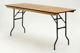 * 6ft by 18inch Trestle Table